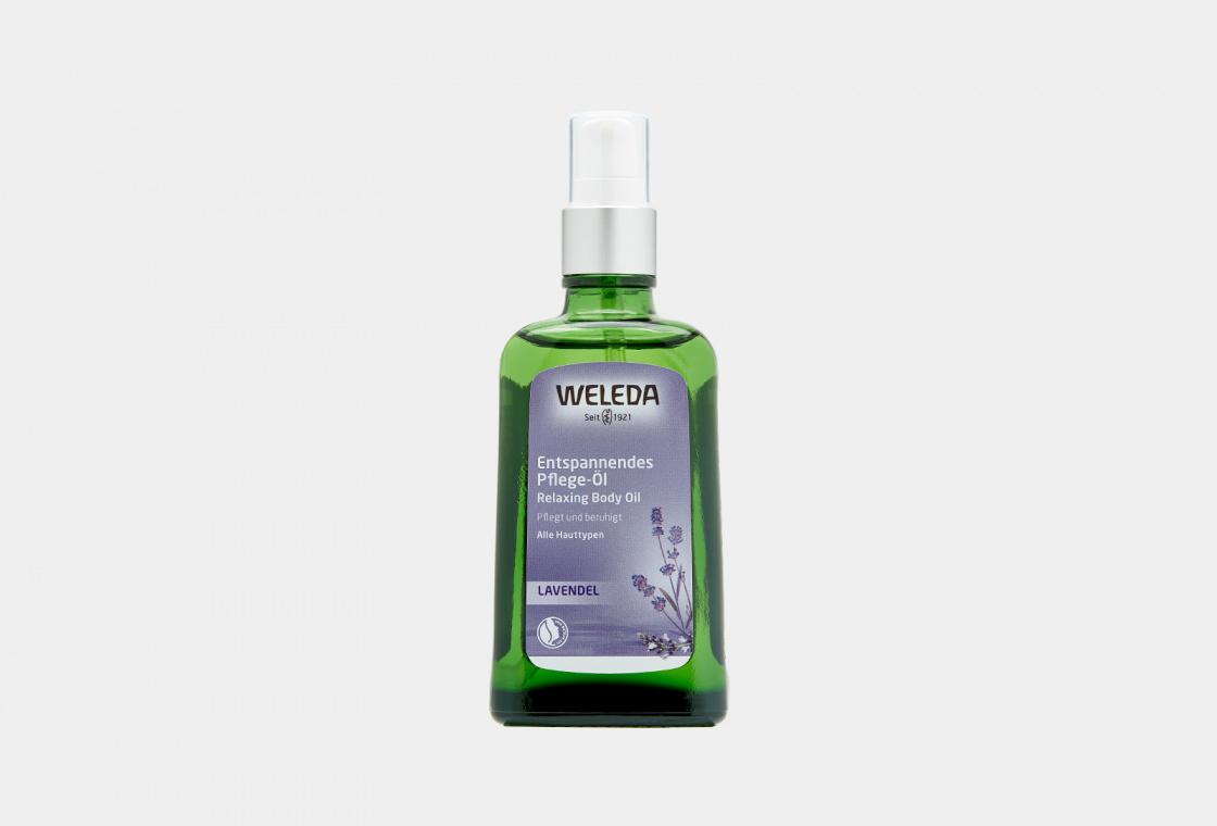 Масло расслабляющее с лавандой Weleda Lavender Relaxing Body Oil