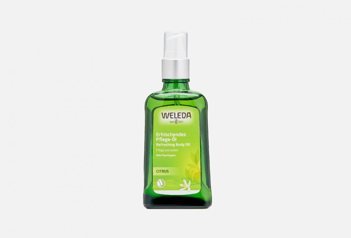 Масло цитрусовое освежающее Weleda Citrus Refreshing Body Oil