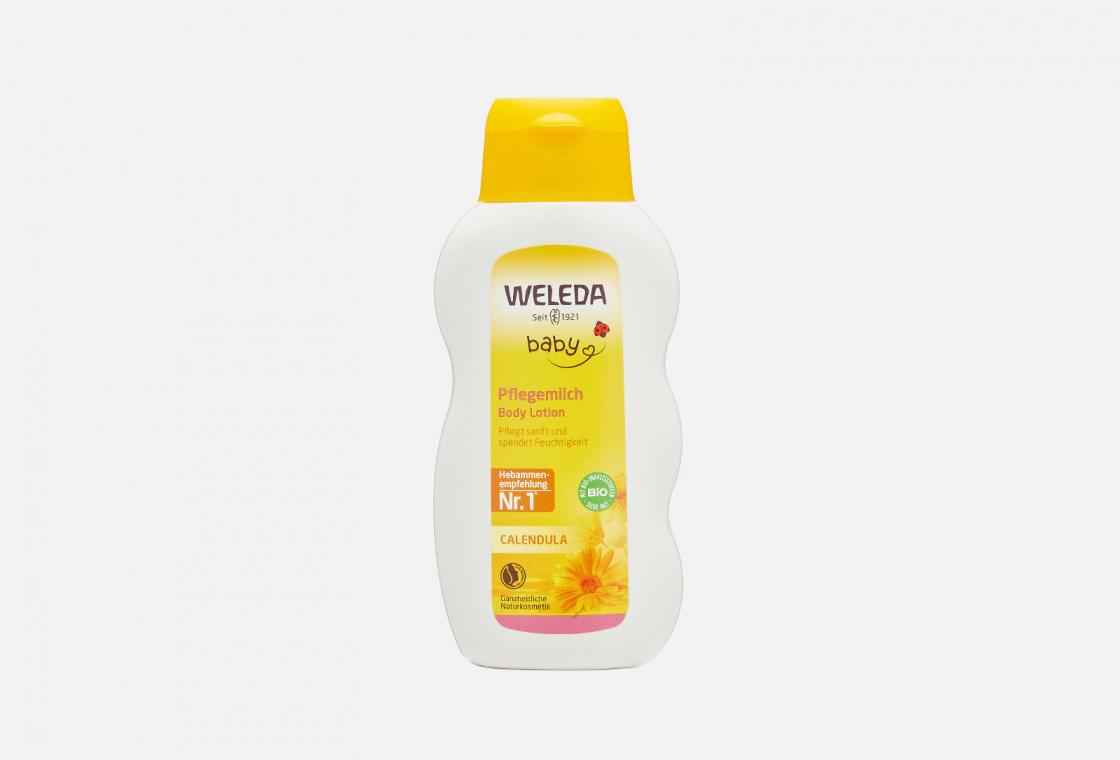 Молочко для тела с календулой Weleda Calendula Baby Lotion