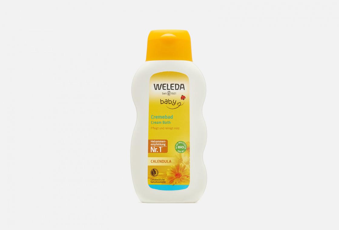 Молочко для купания с календулой  Weleda Calendula Cream Bath