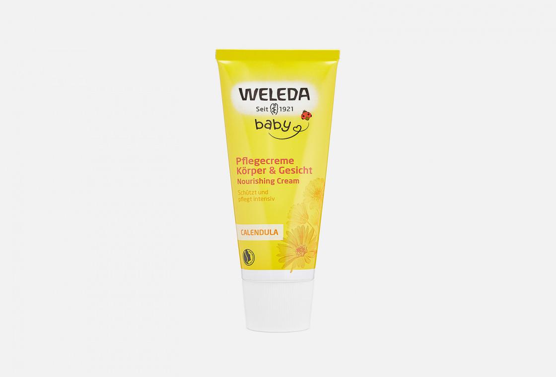 Крем детский с календулой  Weleda Calendula Moisturizing Body Cream
