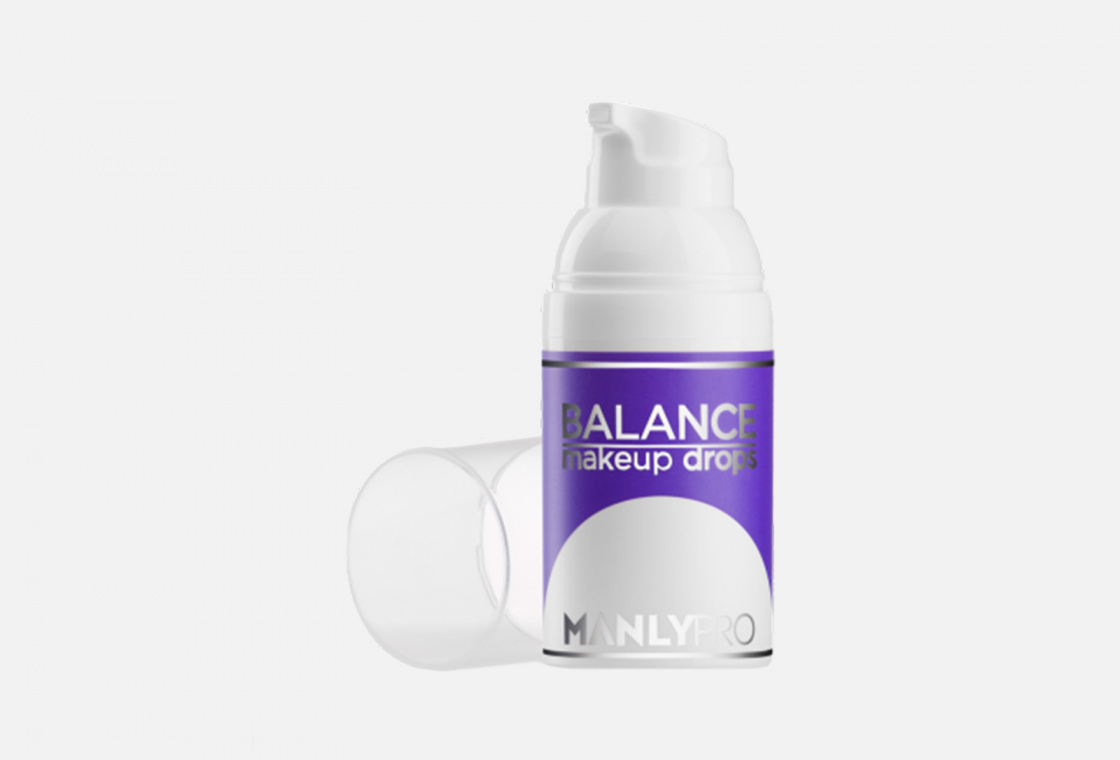 Праймер-сыворотка увлажняющий матирующий Manly PRO Balance  makeup drops