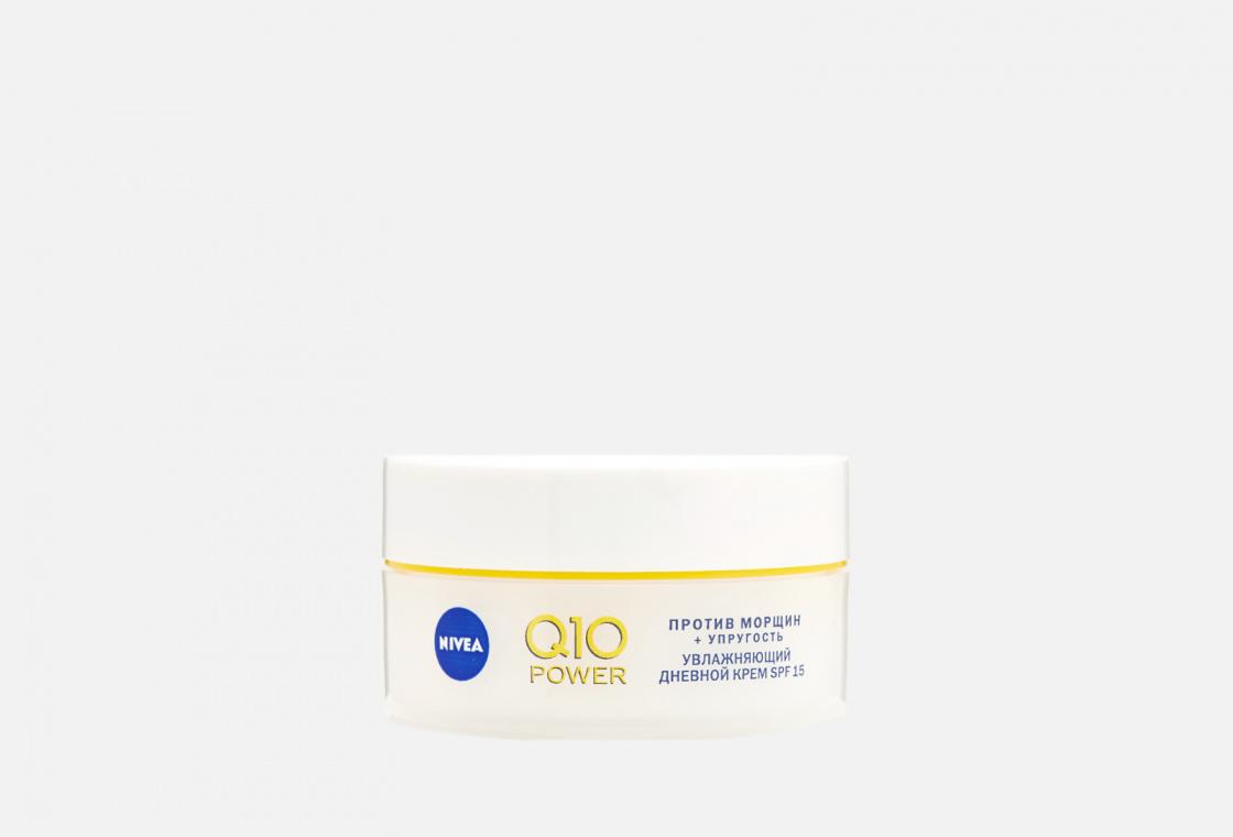 Антивозрастной дневной увлажняющий крем для лица против морщин NIVEA Q10 POWER