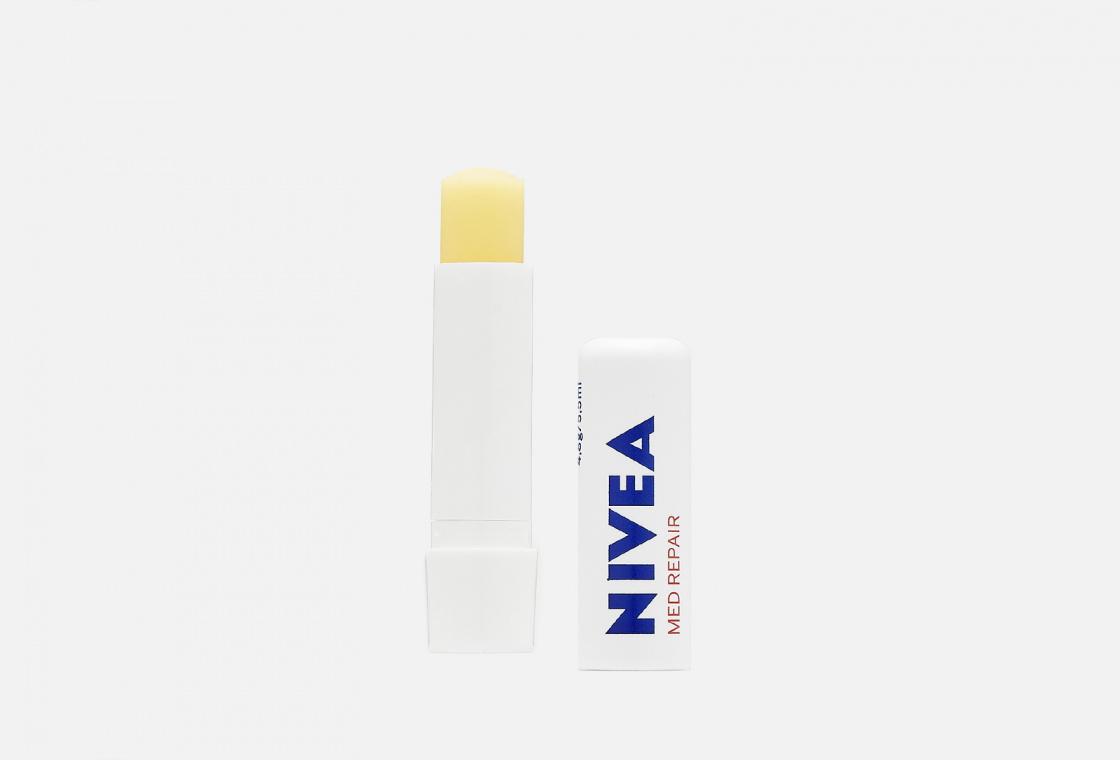 Бальзам для губ с маслами жожоба, авокадо и пантенолом NIVEA SOS-уход