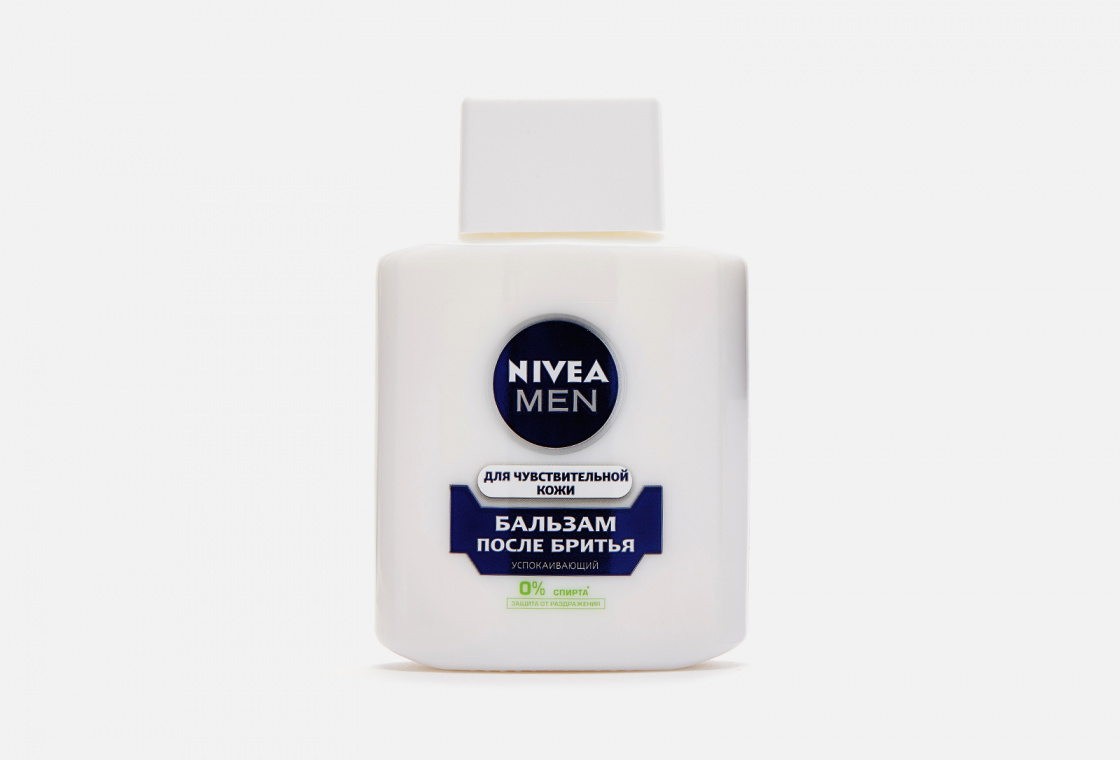 Успокаивающий бальзам после бритья для чувствительной кожи, без содержания спирта NIVEA Men