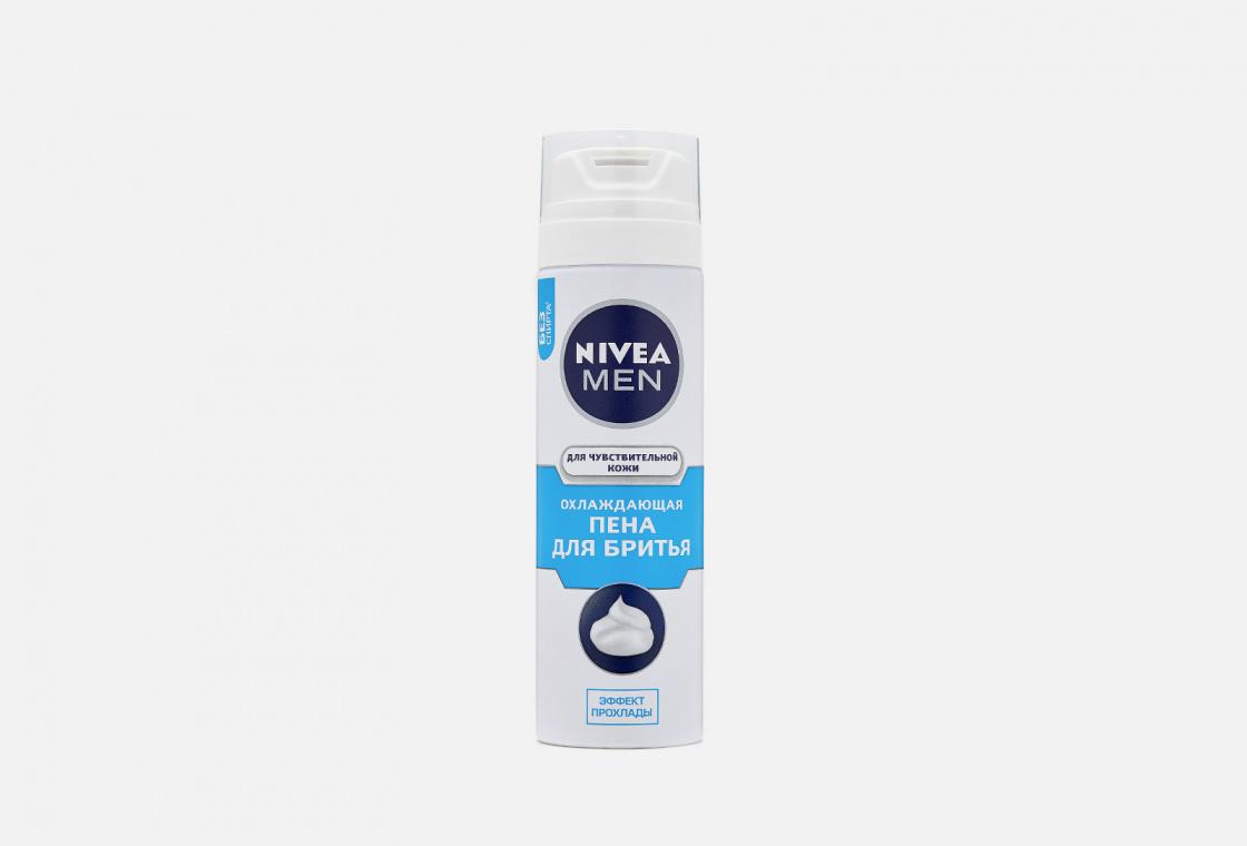 Пена для бритья охлаждающая для чувствительной кожи, без содержания спирта NIVEA Men