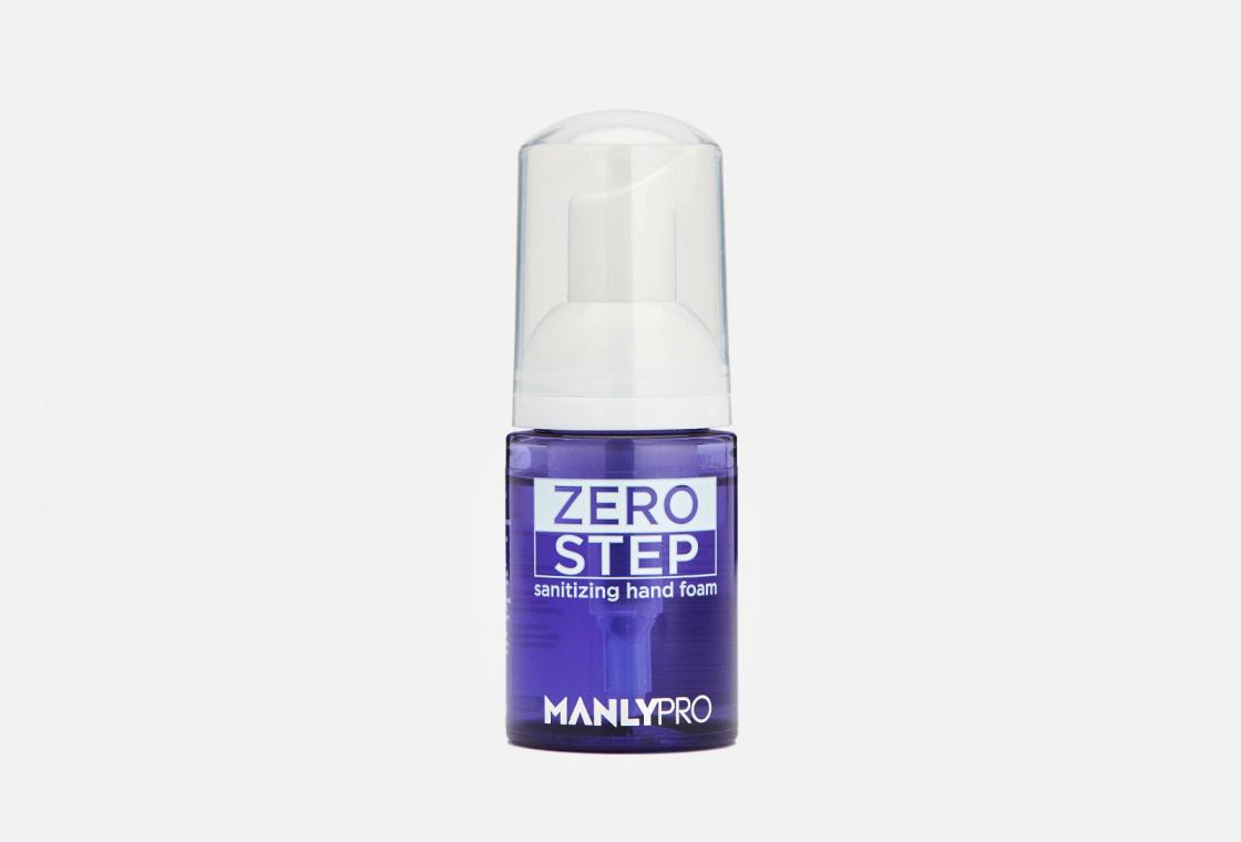 Дезинфицирующая уходовая пенка для рук Manly PRO Zero Step