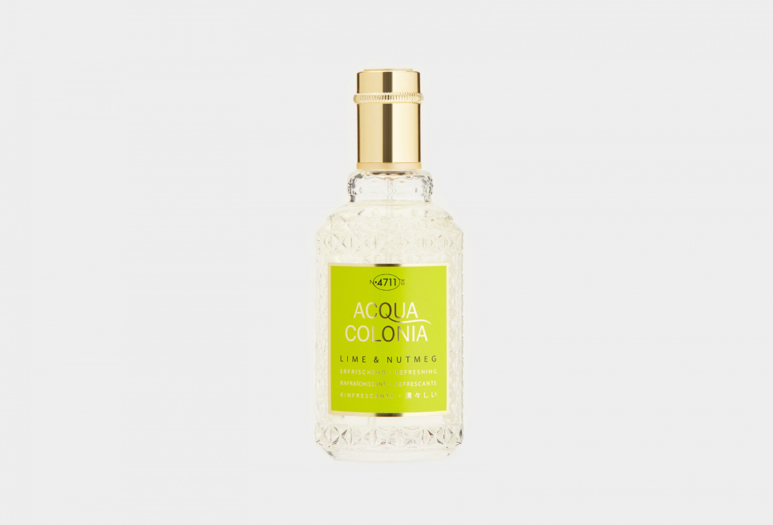 Одеколон 4711AcquaColonia Refreshing Lime & Nutmeg
