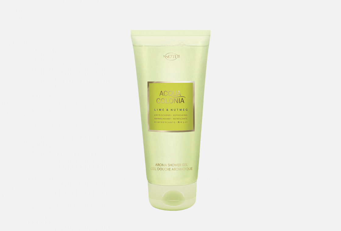 Гель для душа 4711AcquaColonia Refreshing Lime & Nutmeg