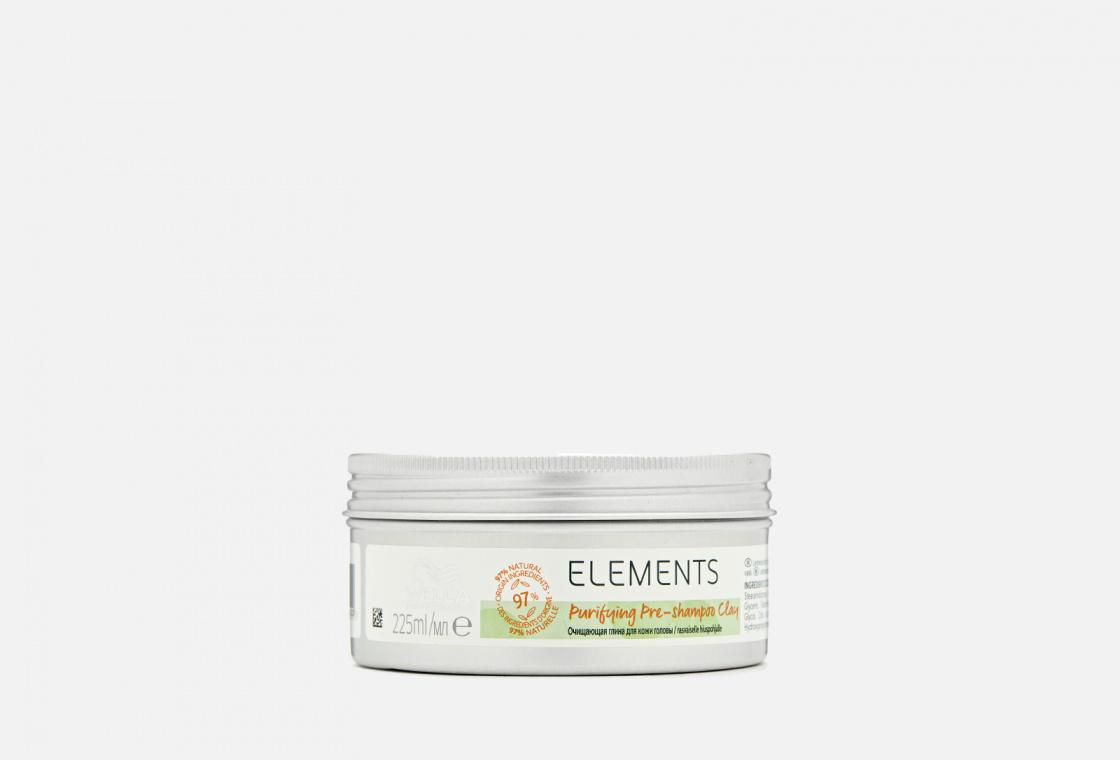 Очищающая глина для кожи головы перед мытьем шампунем Wella Professionals Elements Purifying Pre-shampoo Clay