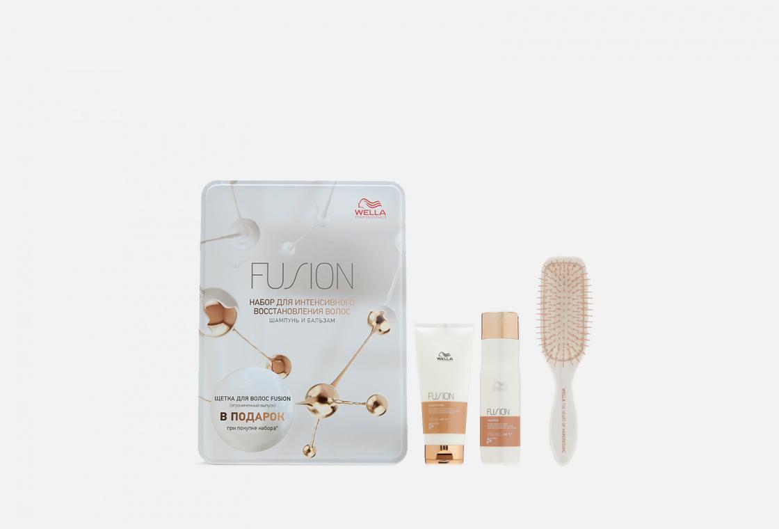 Набор подарочный для поврежденных волос Wella Professionals Fusion Kit