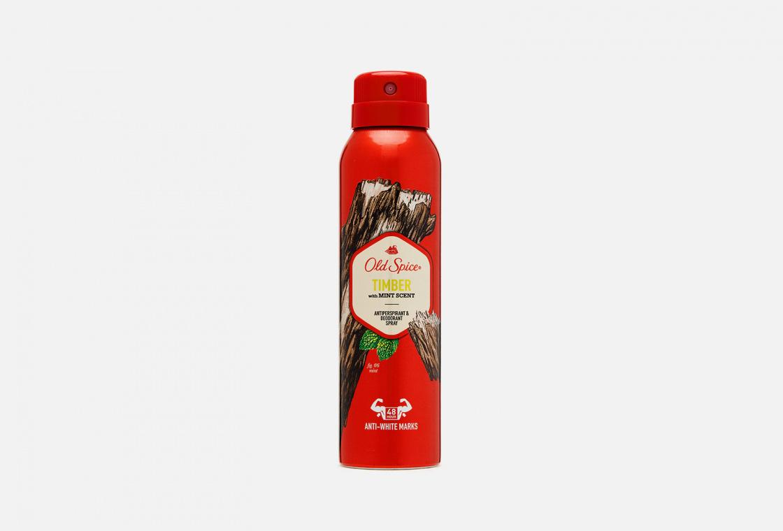 Аэрозольный дезодорант-антиперспирант  Old Spice Timber