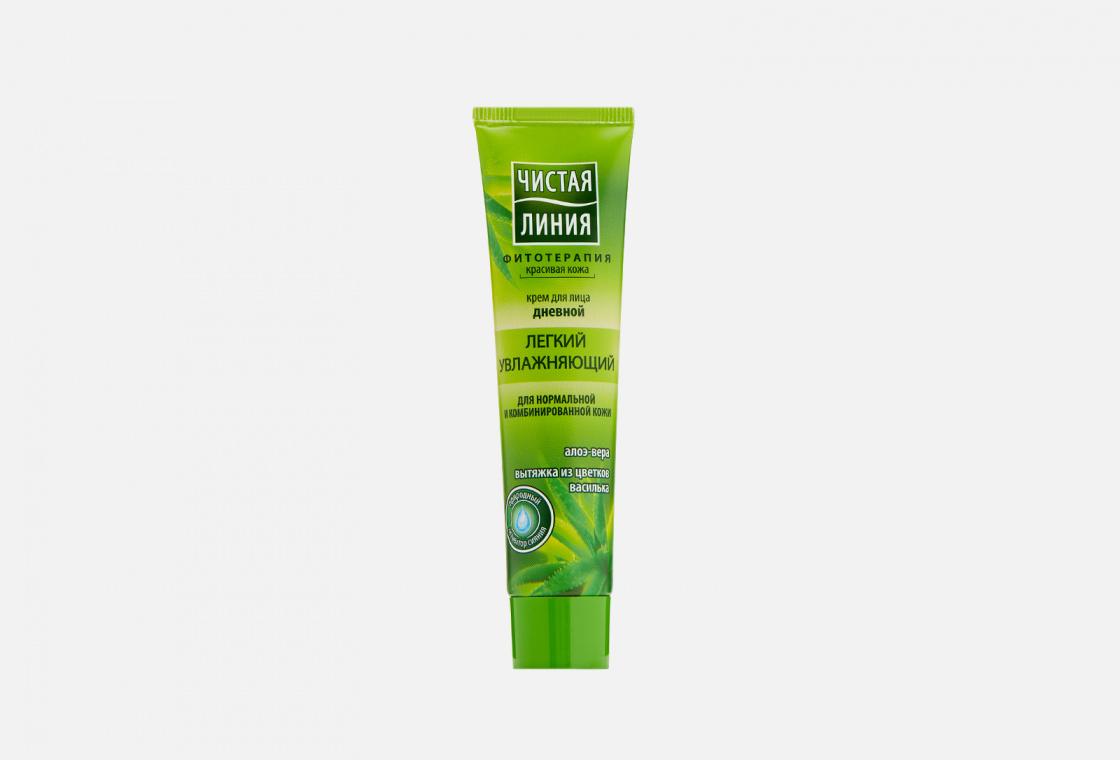 дневной увлажняющий крем для лица для нормальной и комбинированной кожи Чистая Линия для нормальной и комбинированной кожи