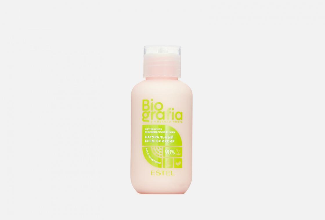 Натуральный крем - эликсир для волос