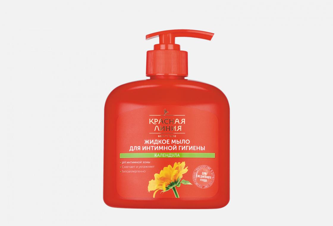 Жидкое мыло для интимной гигиены Красная линия Календула