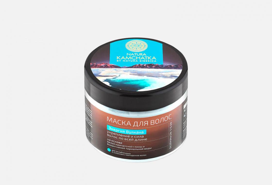Маска для волос укрепление и сила Natura Siberica Kamchatka the energy of the volcano