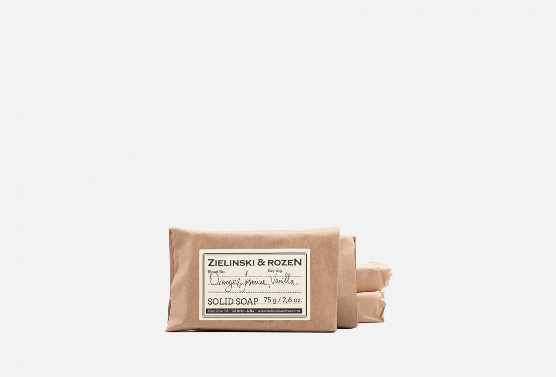 Мыло твердое Zielinski & Rozen Orange & Jasmine, Vanilla