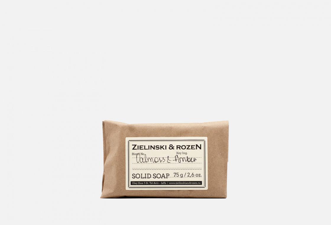 Твердое мыло  Zielinski & Rozen Oakmoss & Amber