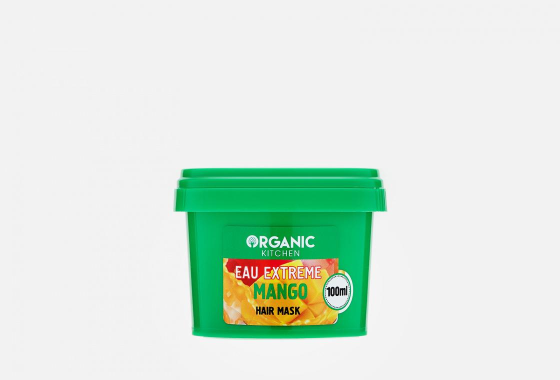 Маска для волос  Вкусное питание от бьюти блогера @nikkoko8 Organic Kitchen Eau extreme mango