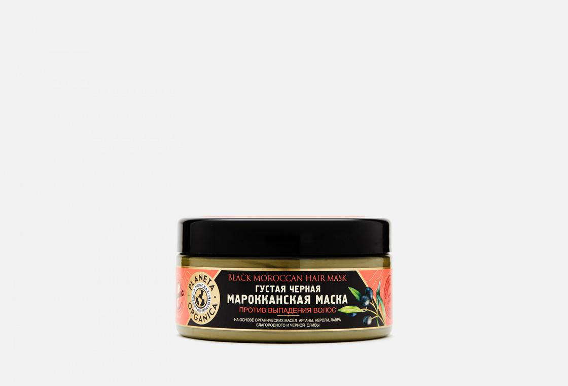 Маска против выпадения волос Planeta Organica Moroccan black