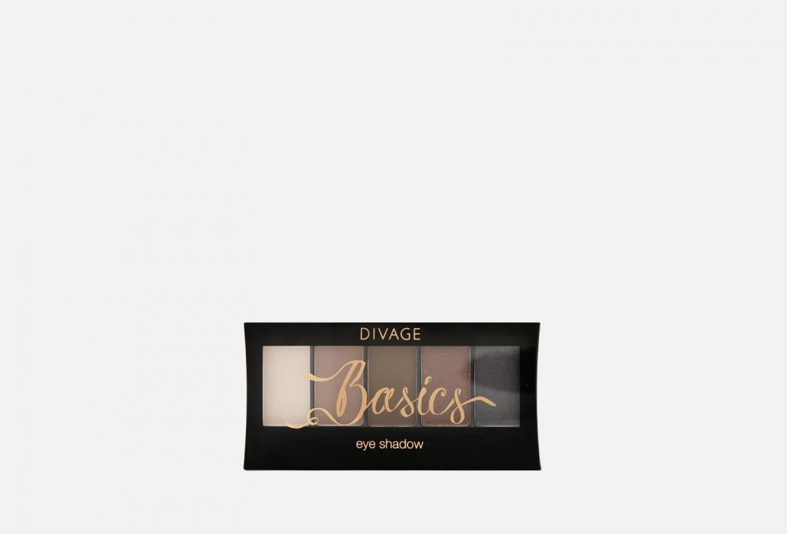 Палетка теней для век  Divage Palettes Eye Shadow, Basics