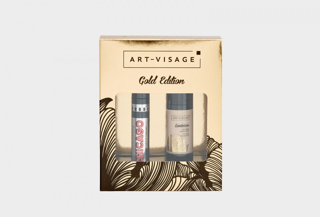 Подарочный набор: Основа под макияж + тушь  ART-VISAGE LUMINIZER +  CHICAGO