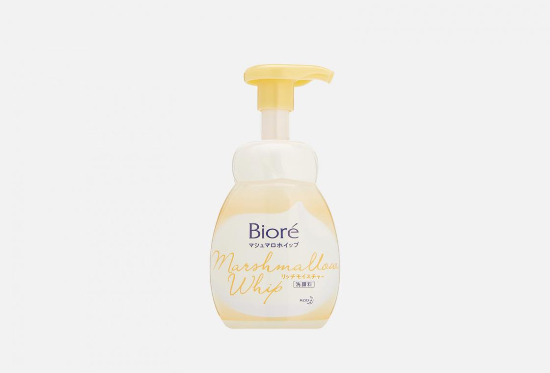 Мусс для умывания экстра увлажнение Biore Marshmallow whip