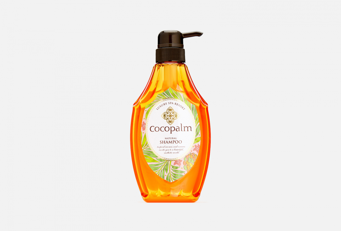 Шампунь для оздоровления волос и кожи головы Luxury Spa Resort Cocopalm