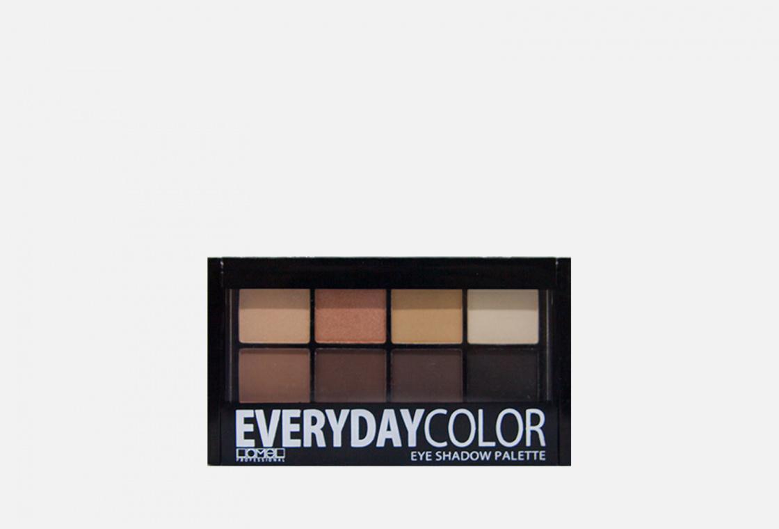 Палетка теней для век  Lamel Eyeshadow 8 Everyday pallete