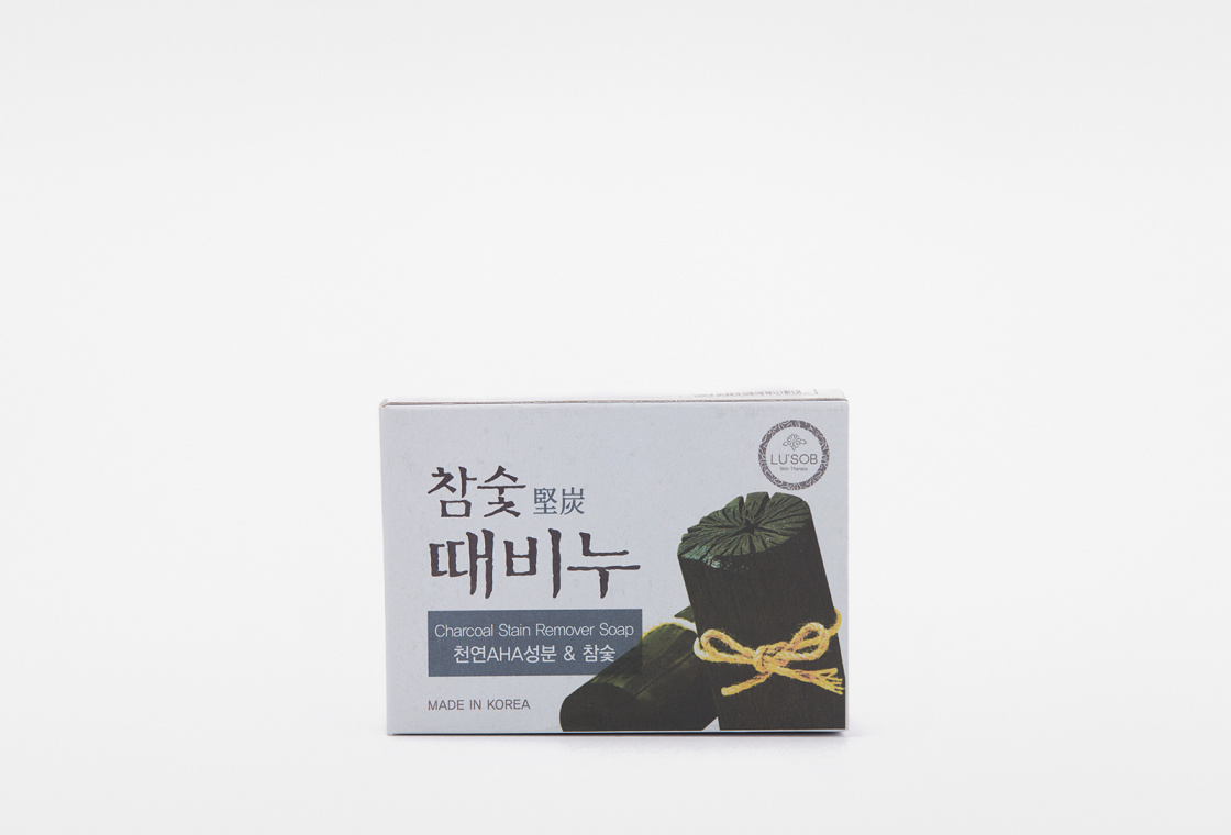 Мыло-скраб  Dongbang Charcoal stain remover Soap