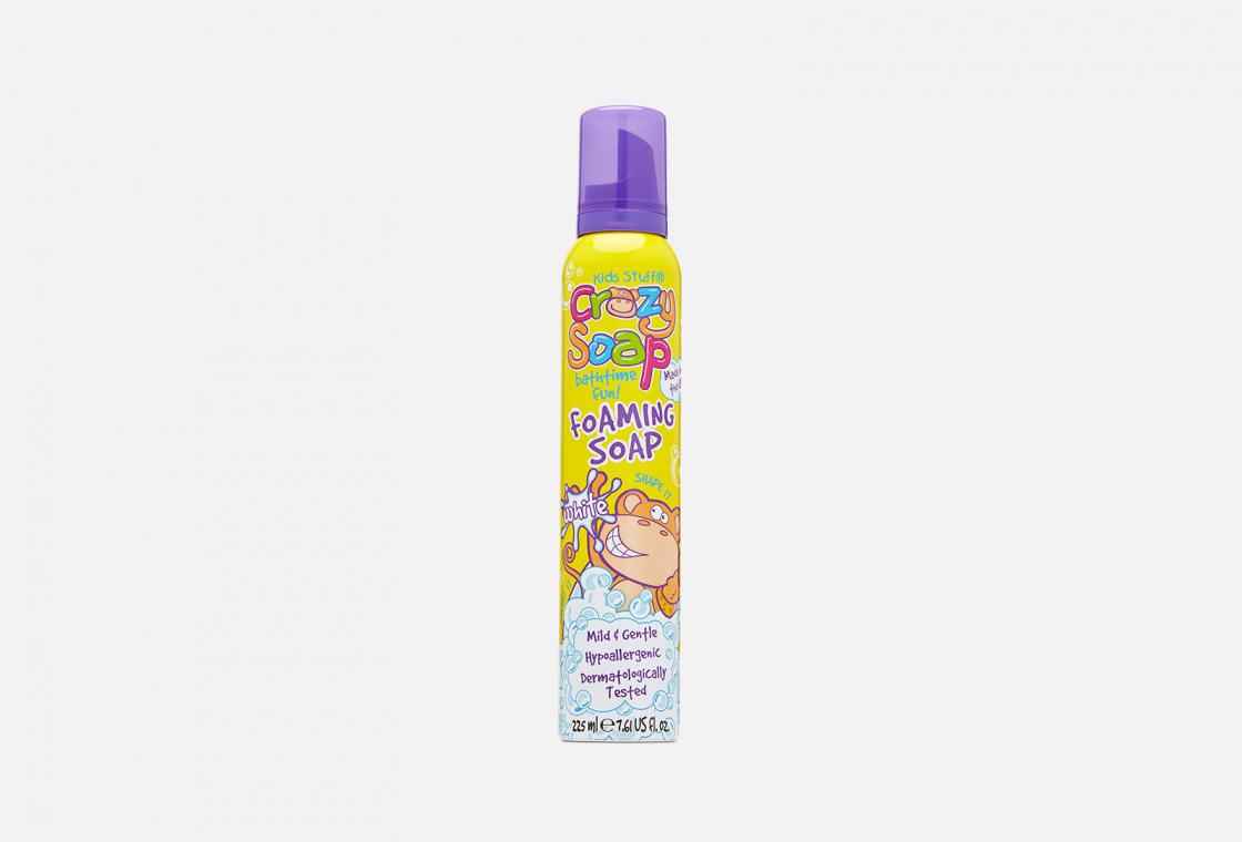 Мусс-пена для купания и детских забав Kids Stuff Crazy Soap Bathtime Fun Foaming Soap White