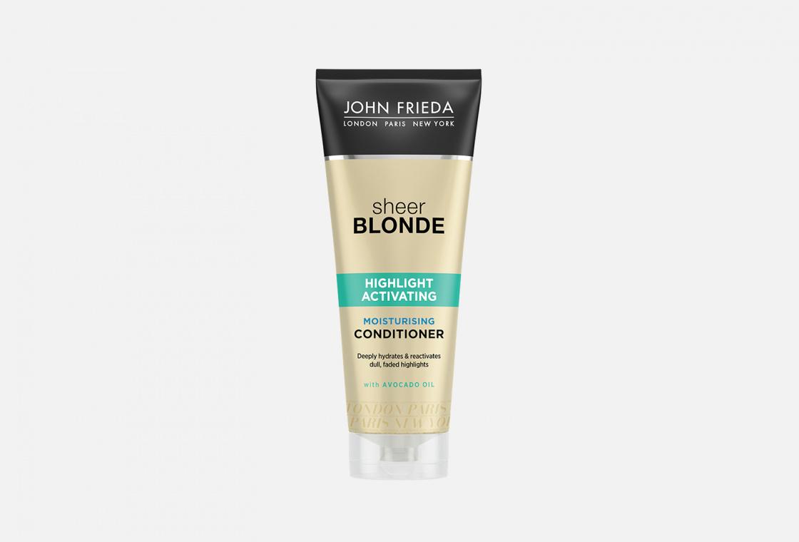 Кондиционер увлажняющий активирующий для светлых волос John Frieda Sheer Blonde