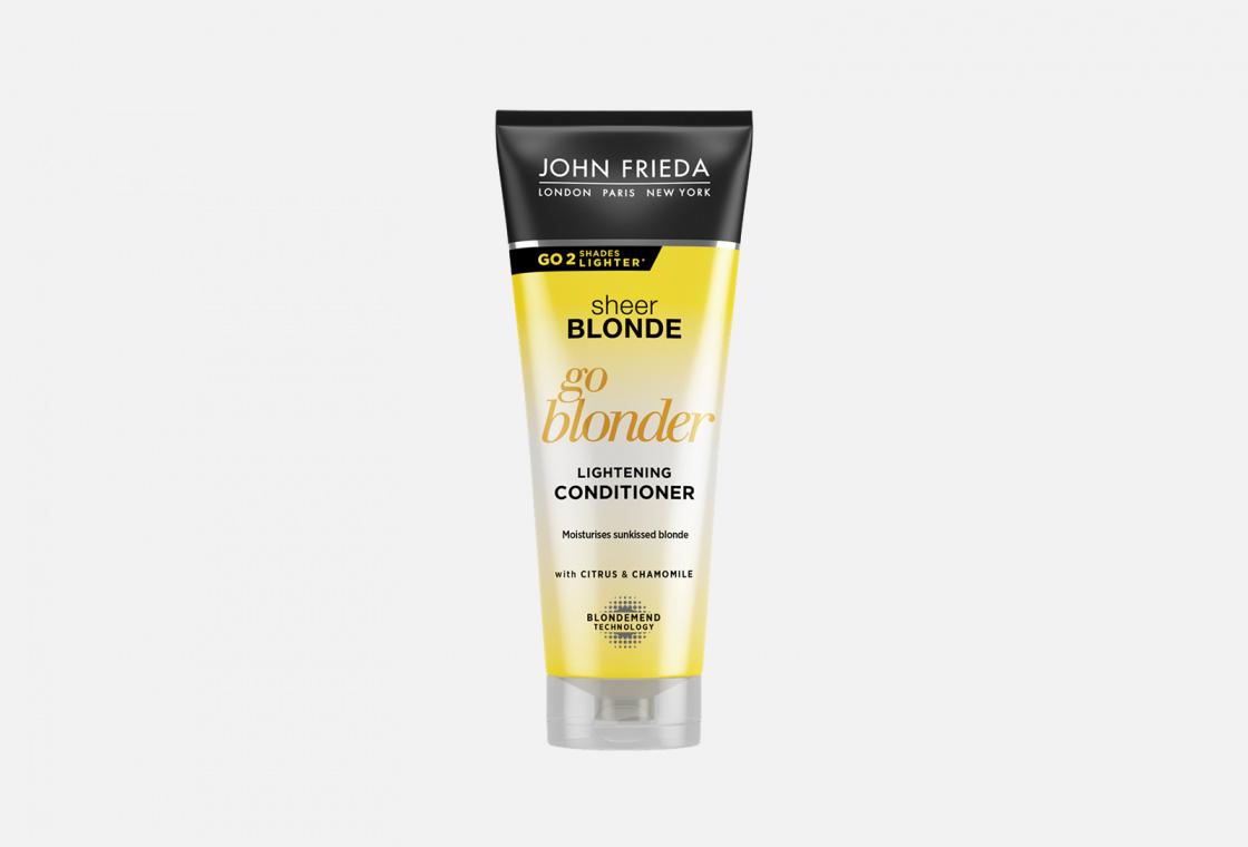 Кондиционер для натуральных, окрашенных и мелированных волос John Frieda Sheer Blonde