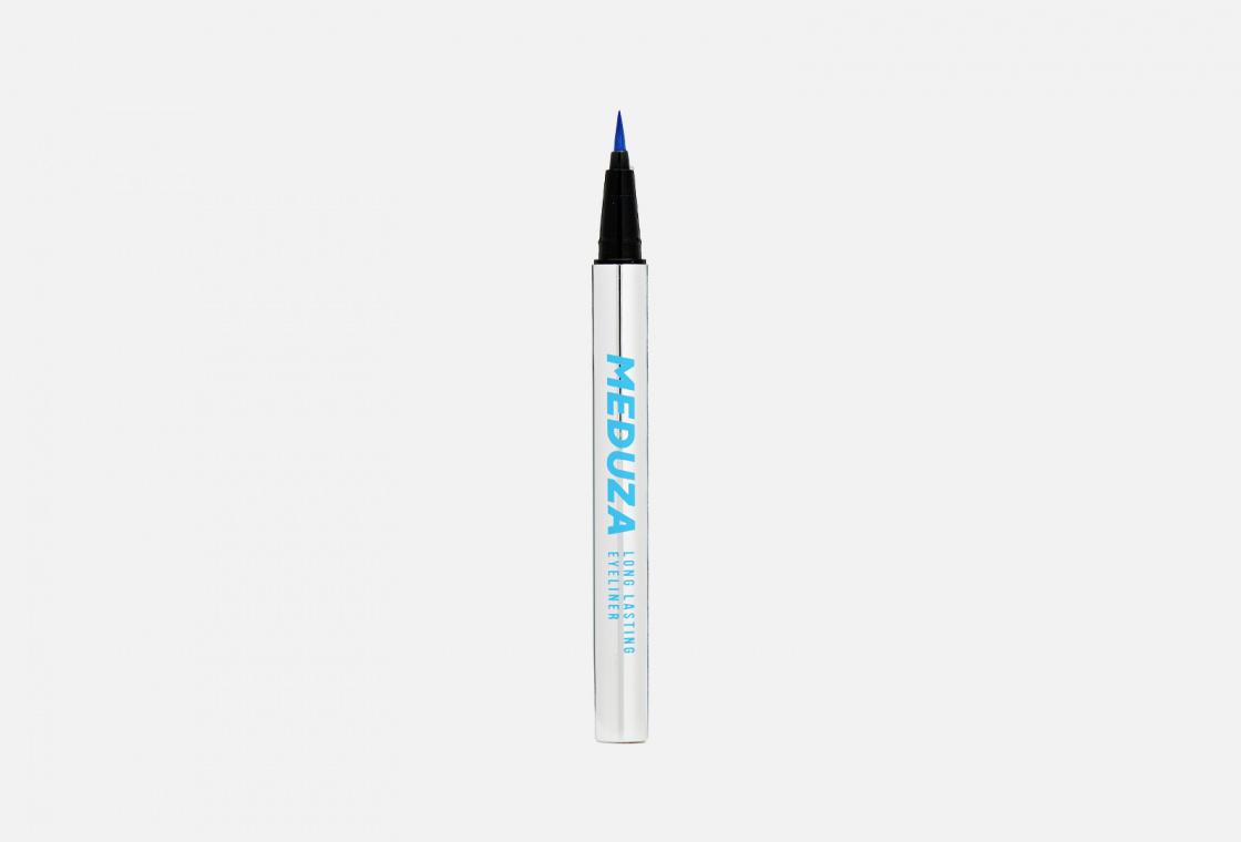 Цветная Стойкая Подводка-фломастер для век  Lamel MEDUZA Brush Eyeliner