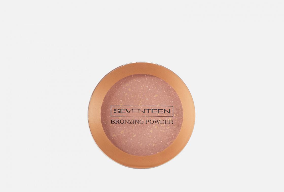 Компактная пудра для лица с бронзирующим эффектом Seventeen  Bronzing Powder