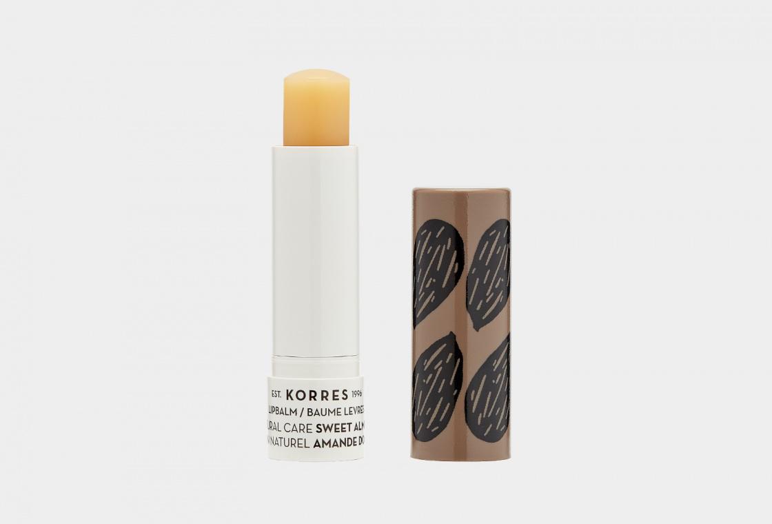Бальзам - стик для губ  Korres Sweet Almond Oil Lip Balm