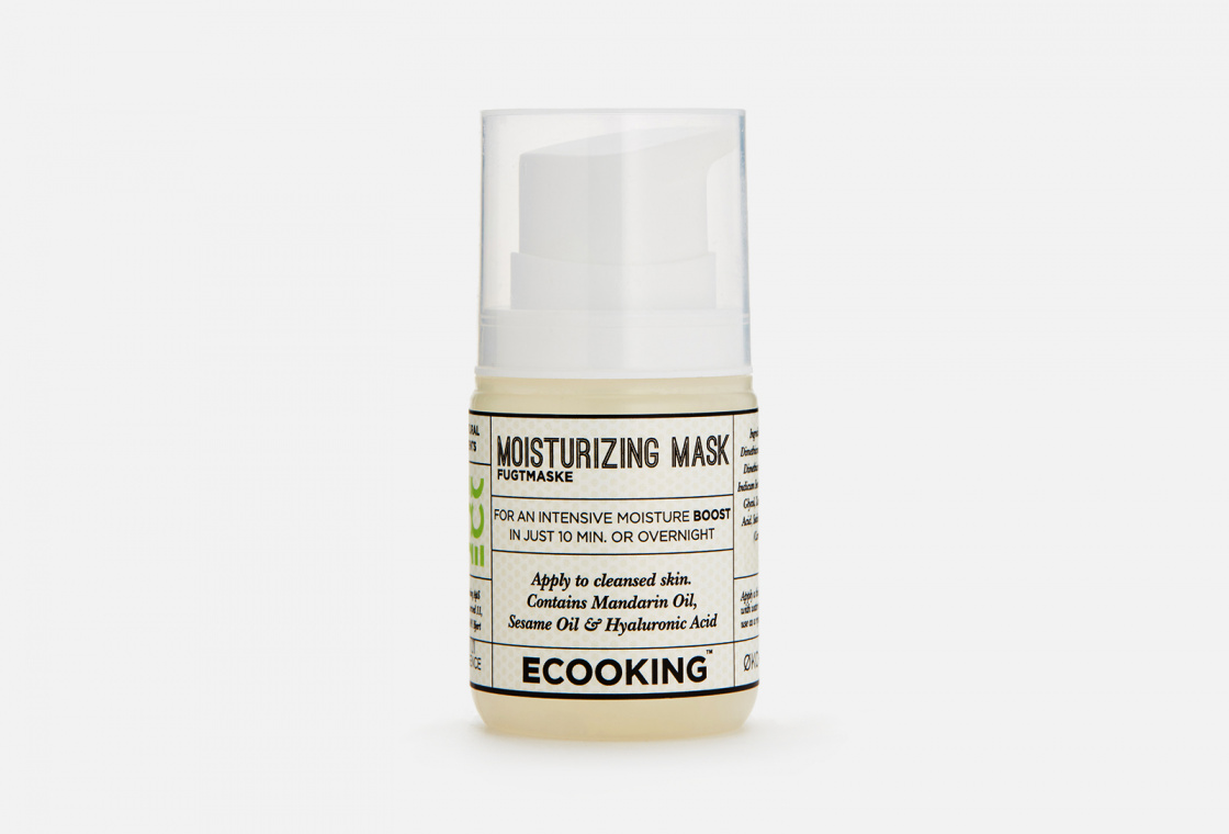 Увлажняющая маска для лица Ecooking Moisturizing Mask