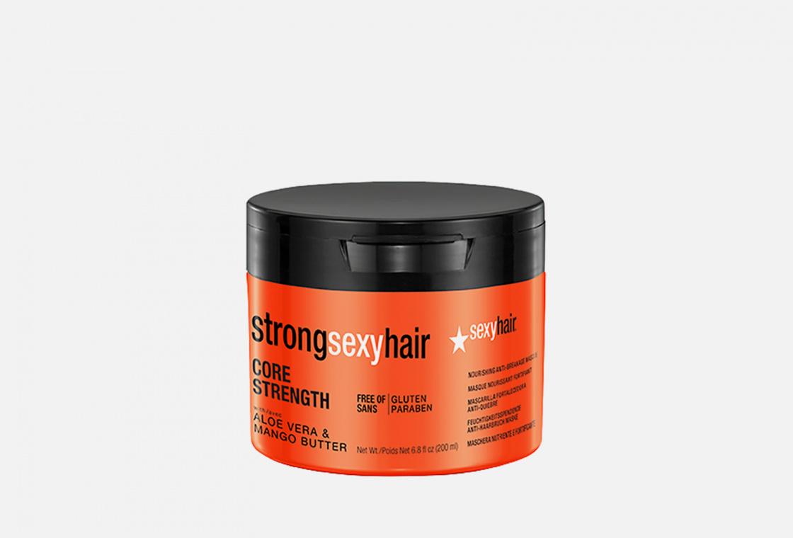 Маска восстанавливающая для прочности волос Sexy Hair CORE STRENGTH NOURISHING ANTI-BREAKAGE MASQUE