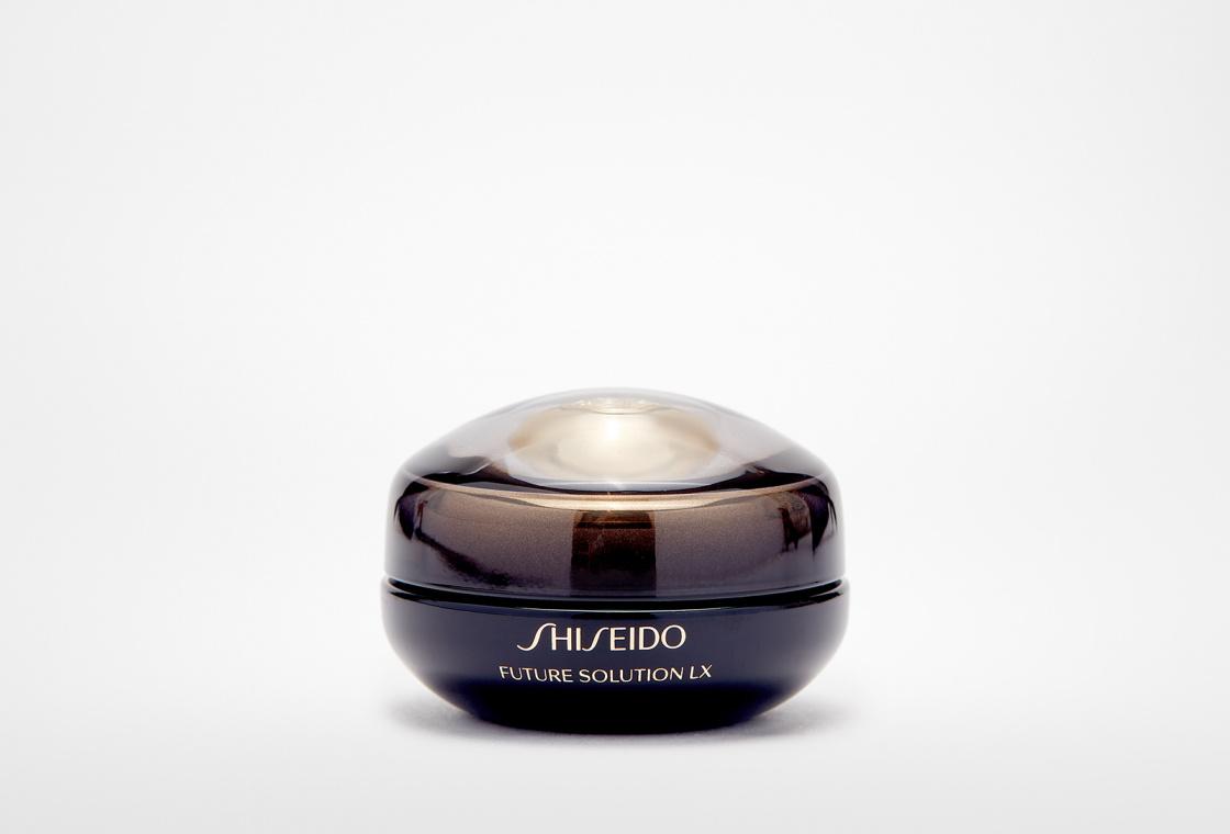 Крем для восстановления кожи контура глаз и губ Shiseido Future Solution Lx Eye And Lip Contour Regenerating Cream E