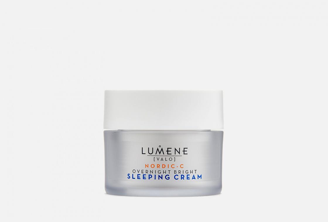 Крем-сон для лица восстанавливающий  LUMENE Valo Vitamin C