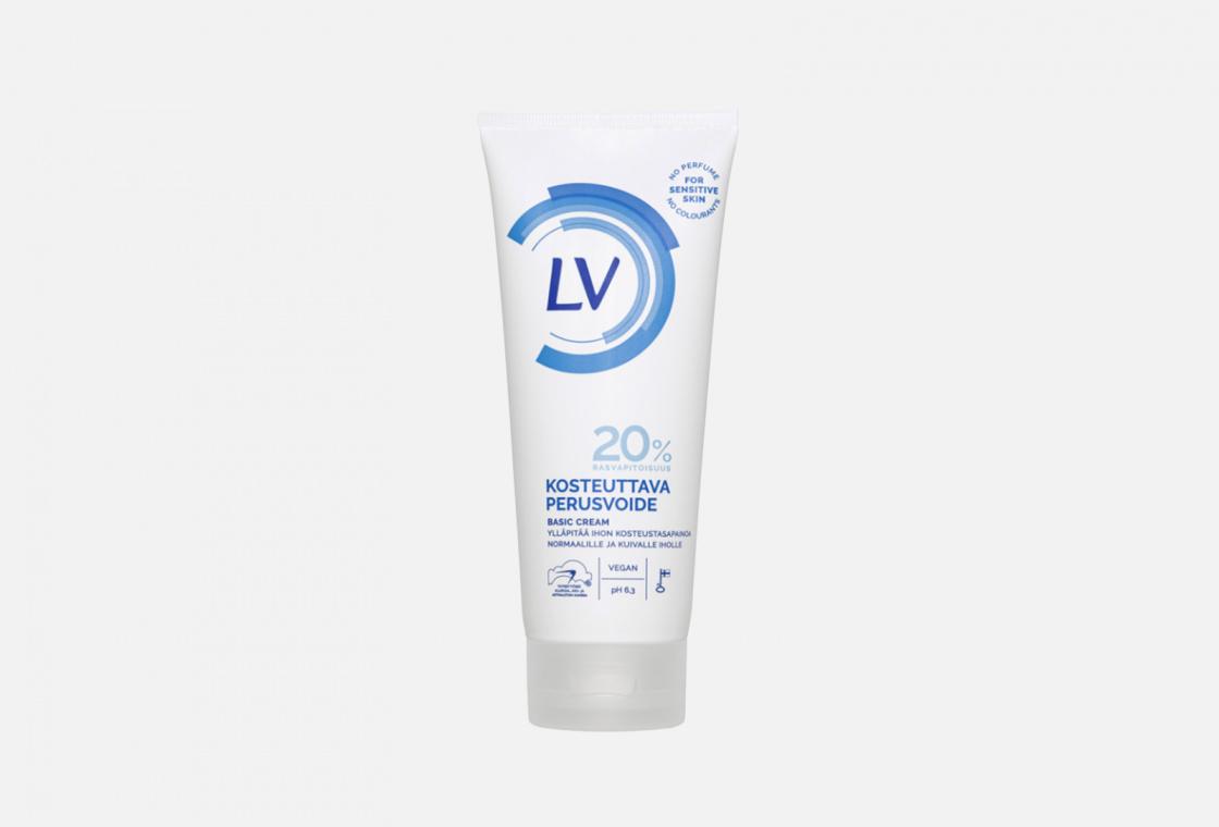 Базовый питательный крем для тела без запаха LV  perfume free Basic Body Cream