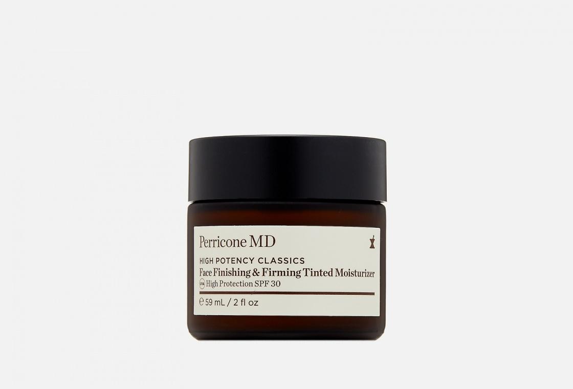 Увлажняющий и укрепляющий крем для лица с эффектом тонирования SPF 30  PERRICONE MD  High Potency Classics Face Finishing & Firming Moisturizer Tint