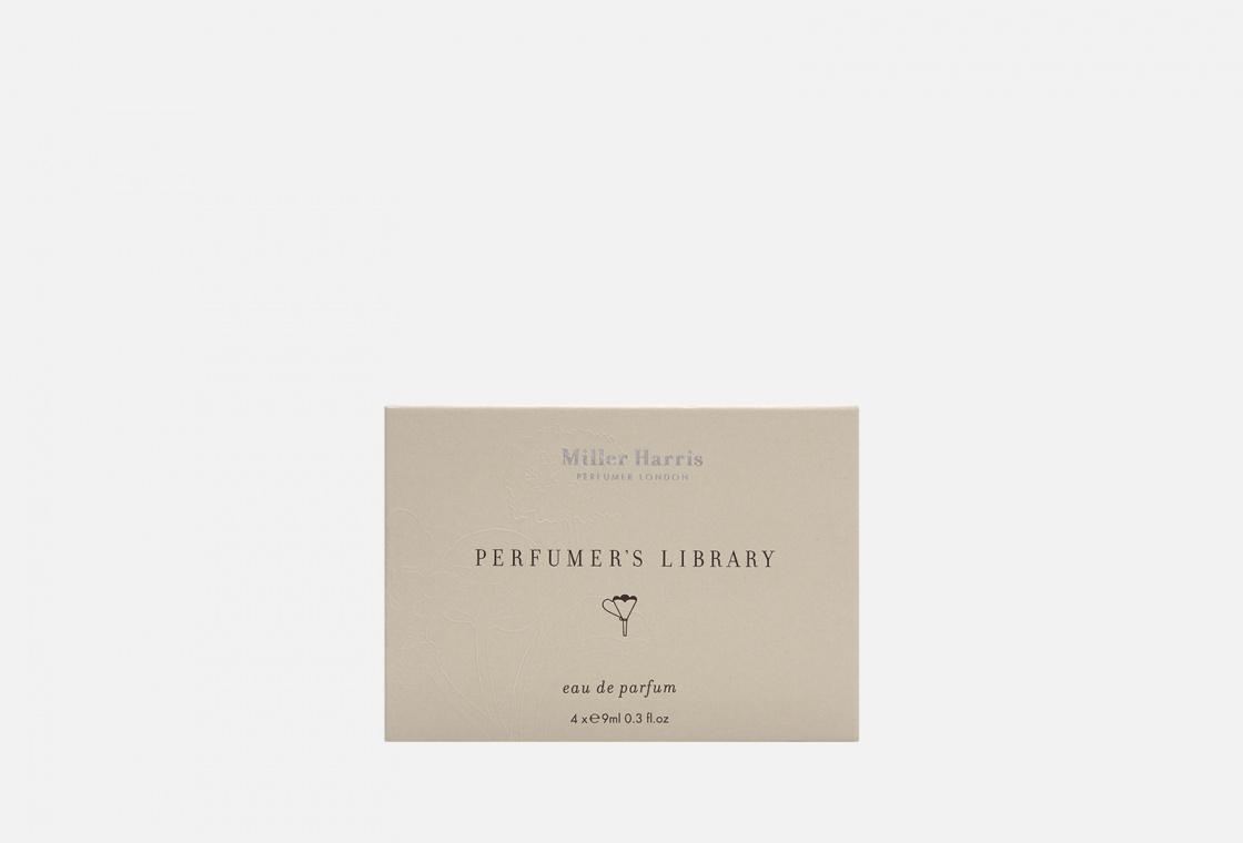 Набор парфюмированной воды 4*9 мл Miller Harris Perfumers Library Discovery Pack