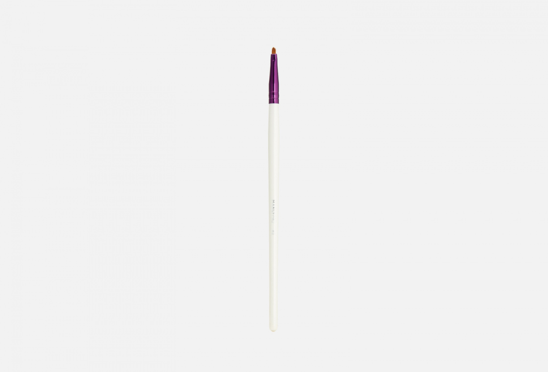 Кисть плоская многофункциональная для мелких деталей/растушевки карандаша и подводки Manly PRO К43