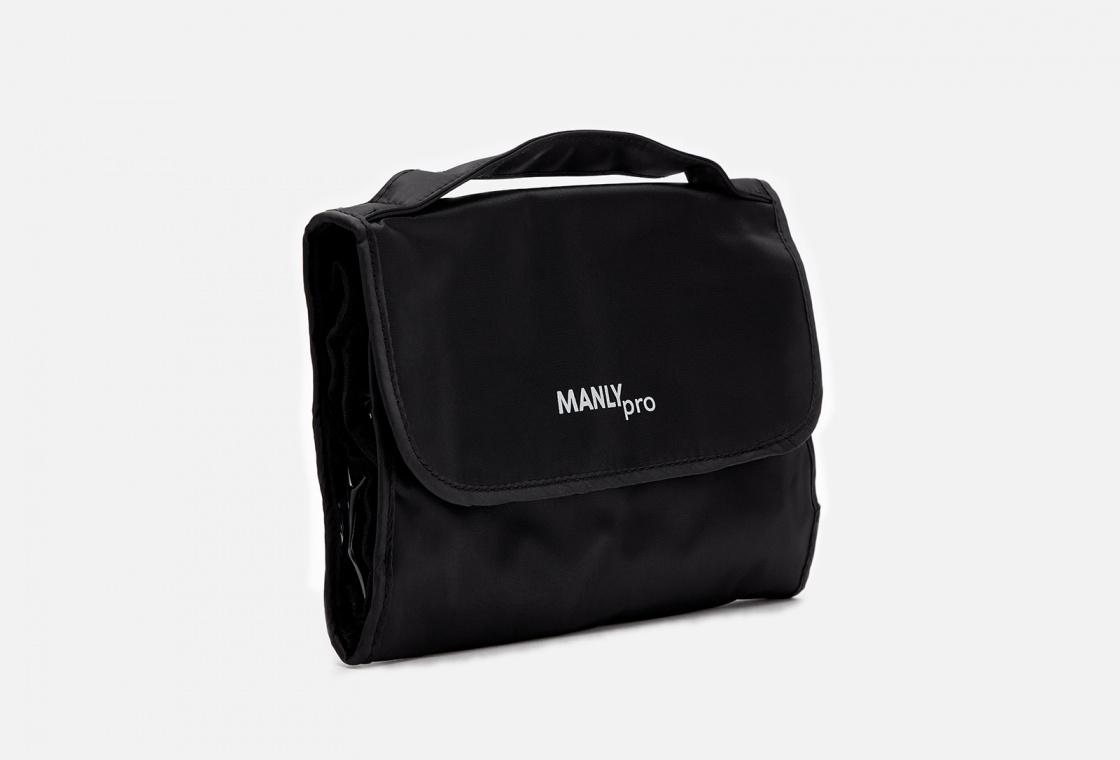 Косметичка с 4 отделениями на молнии Manly PRO Makeup bag