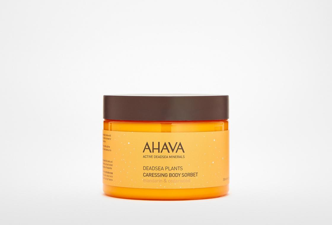 Нежный крем для тела Мандарин и кедр AHAVA Deadsea Plants