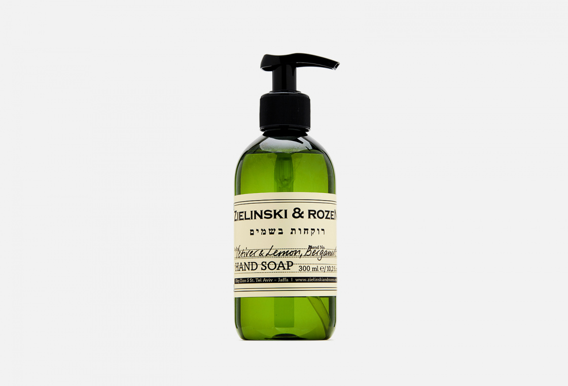 Жидкое мыло  Zielinski & Rozen Vetiver & Lemon, Bergamot