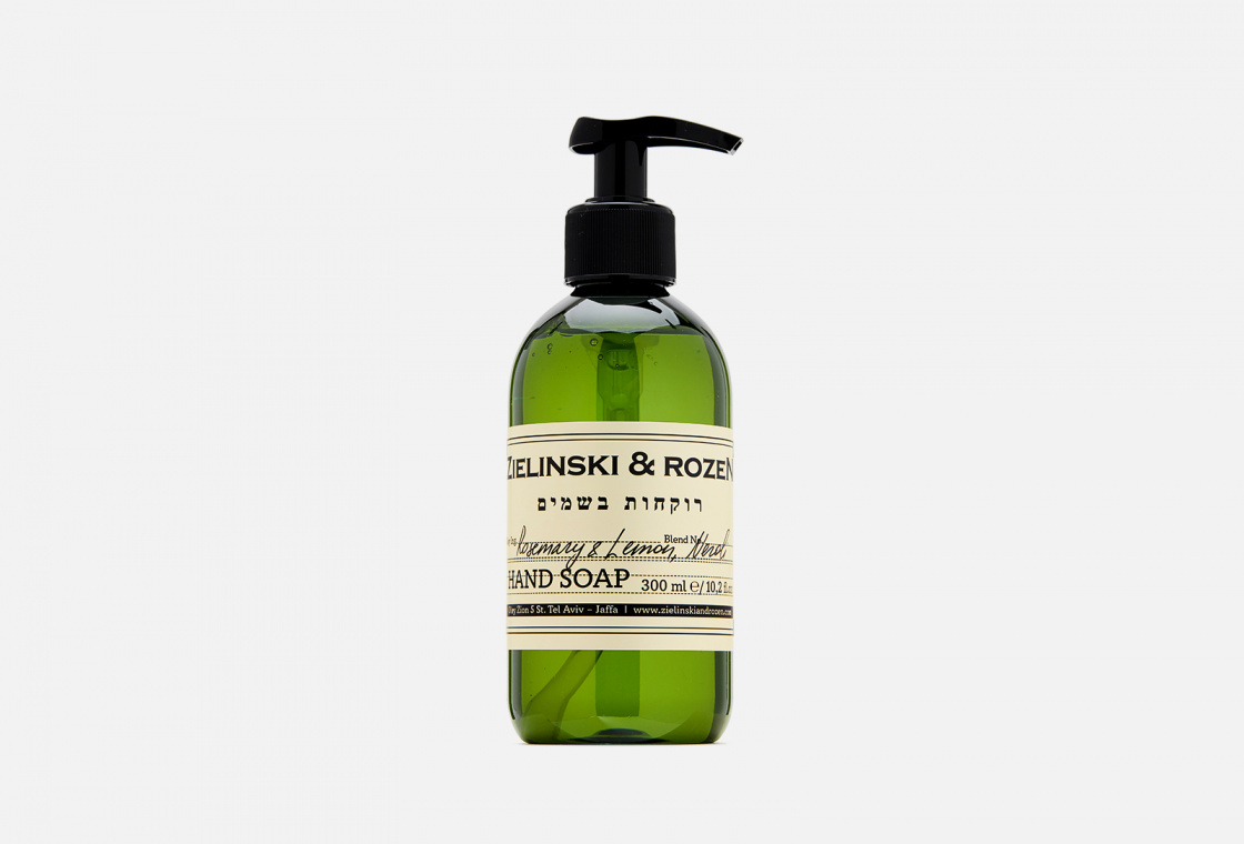 Жидкое мыло  Zielinski & Rozen Rosemary & Lemon, Neroli