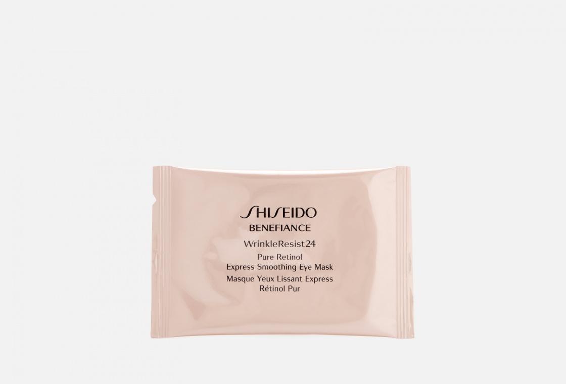 Маска моментального действия для контура глаз на основе чистого ретинола Shiseido Benefiance Wrinkleresist24 Pure Retinol Ex Eye Mask