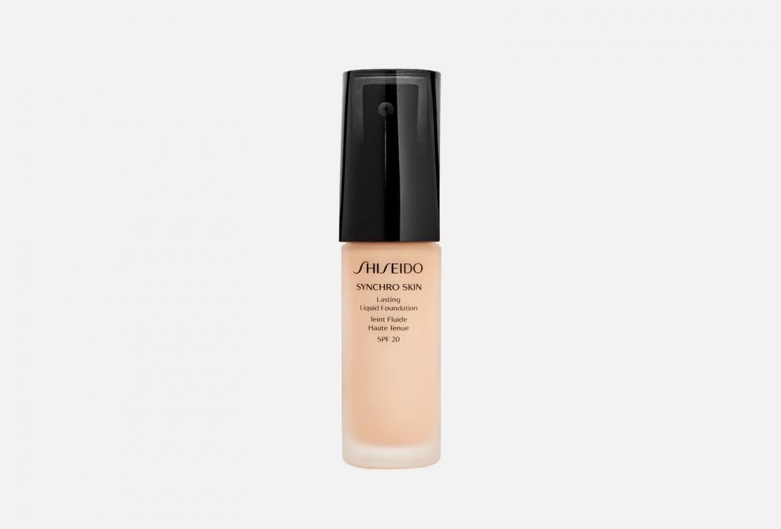 Устойчивое тональное средство Shiseido Synchro Skin Lasting Liquid Foundation